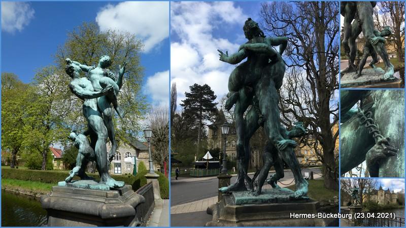 Hermes in Bückeburg – Raub der Sabinerinnen (?)