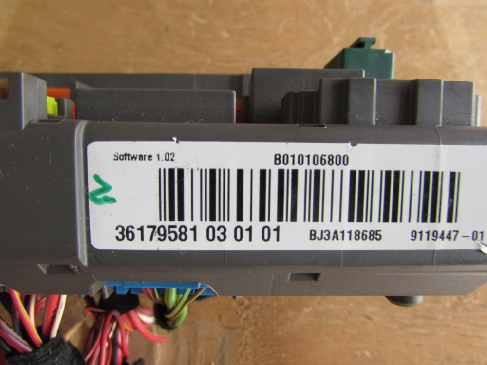medium resolution of bmw fuse box power distribution box front 61149119447 e90 323i 328i 330i