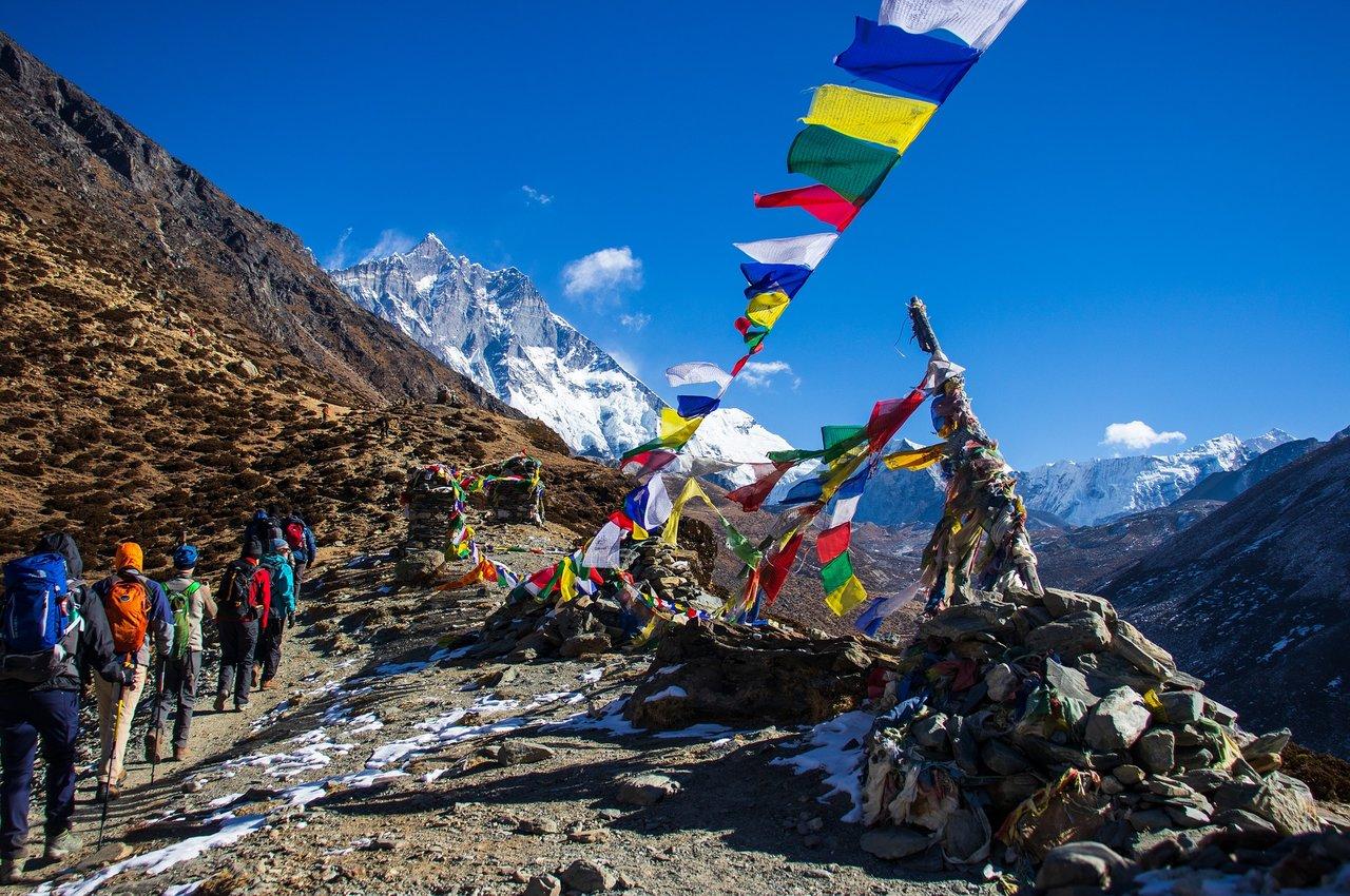 Trekings Nepālā, ceļojums uz nepālu, путешествие в непал