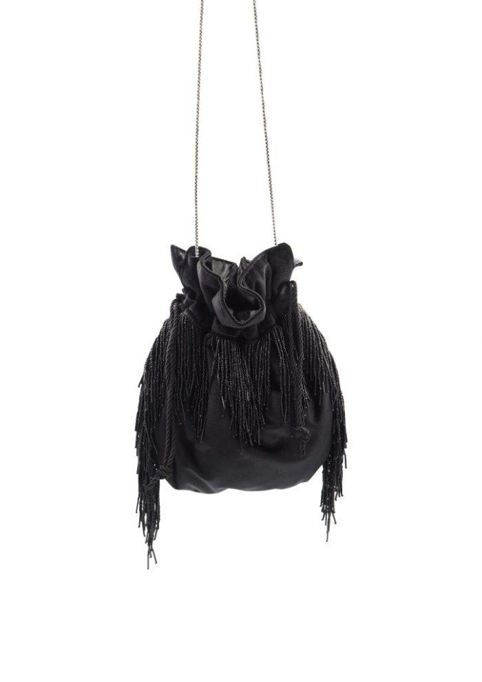 HERMINA x STYLELOVE -Medusa Bag – Small Black Velvet