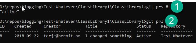 Visual Studio and Azure DevOps Git: Extend the git command
