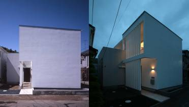 川崎 注文住宅 白い箱