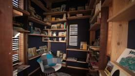 離れの本棚 自分の図書館