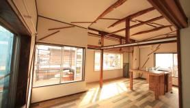 リノベーション 和室の二室をダイニングスペースへ
