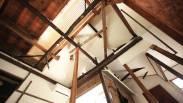 リノベーション 見上げ 既存を生かした天井のデザイン