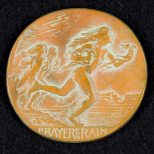 1931 Society of Medalists #3 ~ Moqui Runner and Hopi Rain Dance (reverse)