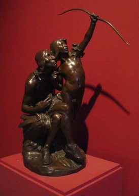 """A MacNeil """"Sun Vow"""" sculpture housed in the Founder's gallery of the Reading Public Museum in Reading, PA"""
