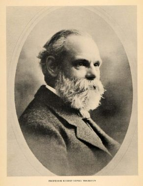 Professor Robert Henry Thurston hired, mentored, and helped to inspire Hermon Atkins MacNeil onto a career as a sculptor in their 3 brief years together at Cornell University, Sibley College (1886-89)