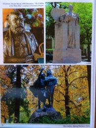 Dwight Moody, WWI Monument - Flushing NY; Portland - Chief Multnomah - Coming of the White Man.