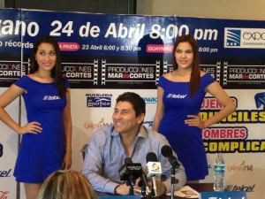 Cesar Lozano en Hermosillo
