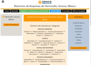 Directorio de Empresas de Hermosillo Sonora