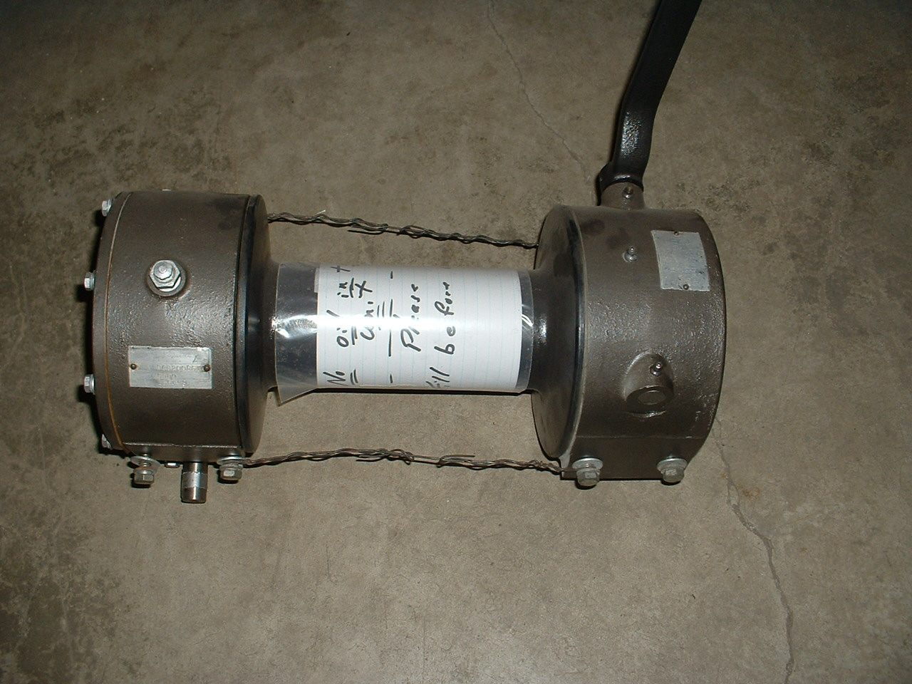 hight resolution of ramsey pto winch