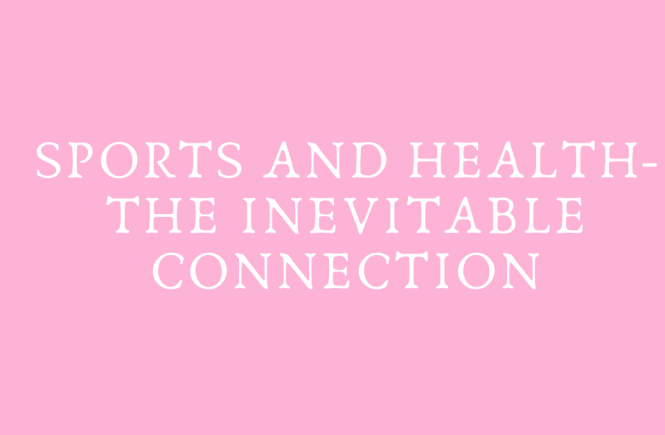 Connection between good health and sports