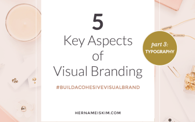 5 Key Aspects To Visual Branding Part 3: Typography