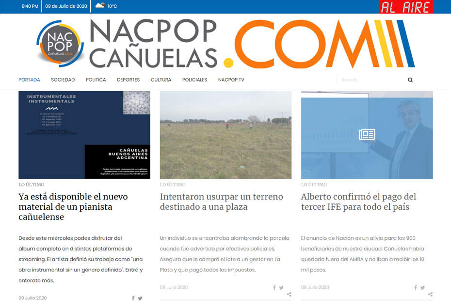 NacPop – 09.07.2020