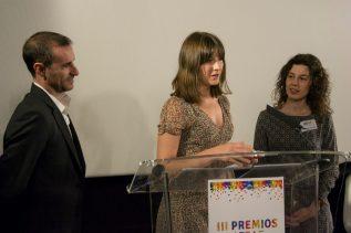 Accepting the ATRAE Award