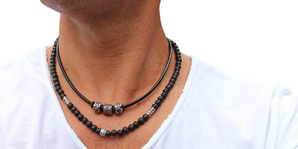 collier pour hommes