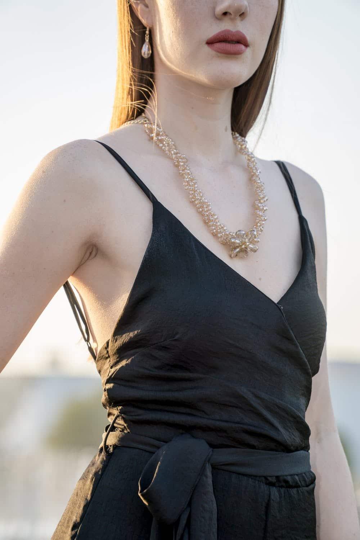 collier fantaisie de marque