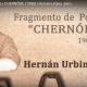 Fragmento de Poema 36   CHERNÓBIL (1986)   Hernán Urbina Joiro