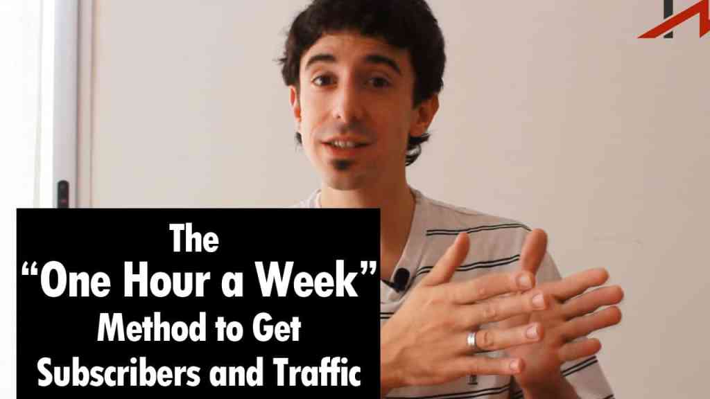 How to Get a Ton of Subscribers by Using One Hour a Week - Hernan Vazquez