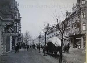 Die Bahnhofstraße um 1900, Foto Gerd Biedermann
