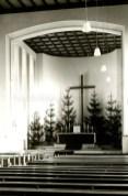 Innenraum der St.Elisabeth-Kirche, Repro Gerd Biedermann