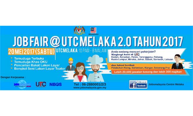 job fair UTC melaka 2.0