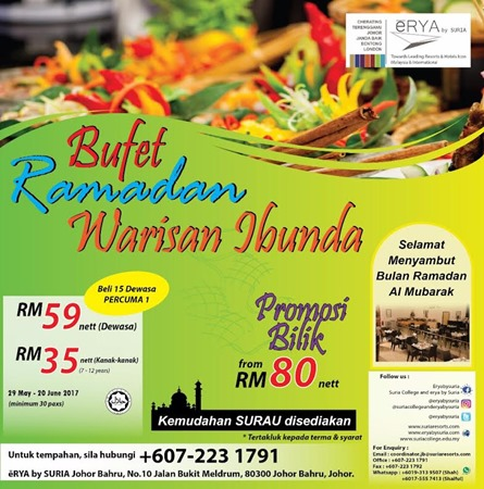 Buffet Ramadhan Erya by Suria Resort