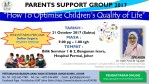 """Parents Support Group 2017 – 21 Oct 2017 