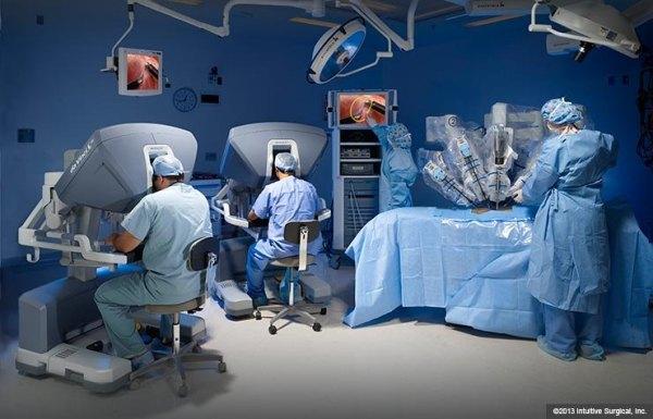Davinci-surgical-robot-surgery