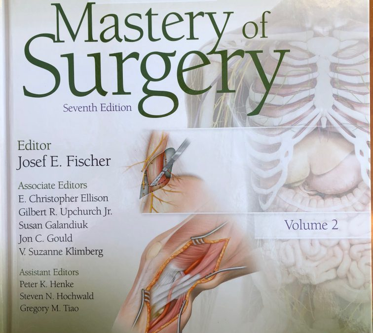 Most recent publication In Mastery of Surgery