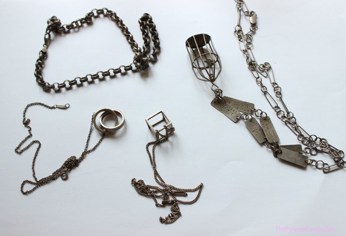 how to clean silver jewelry with vinegar