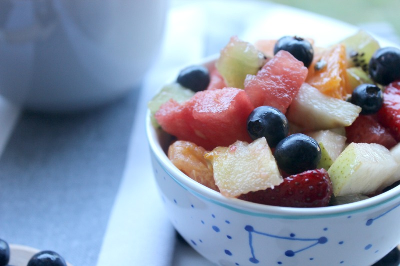 is fruit salad healthy what fruits are in season