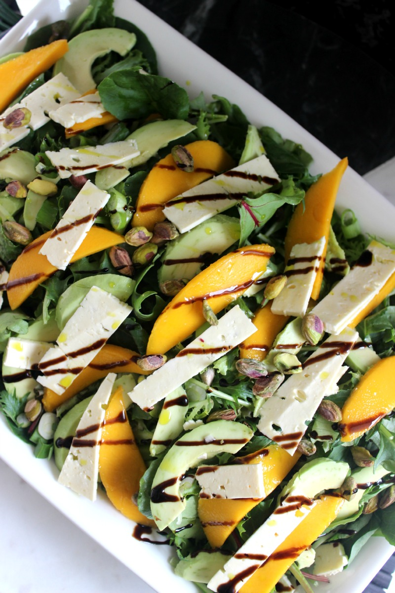 Mango and feta summer salad 1
