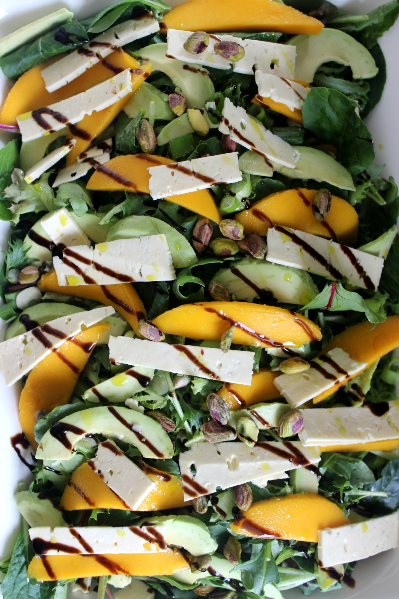 Mango and feta summer salad 3