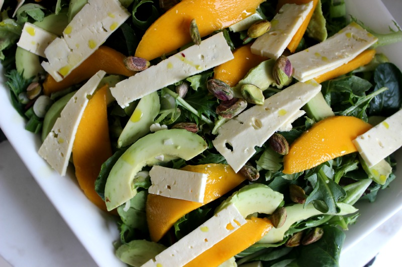 Mango and feta summer salad 6