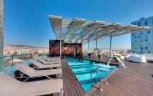 Hotel Silken Diagonal Barcelona Hero And Leander