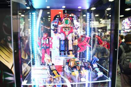 SDCC BA Booth Legacy Thunder Megazord