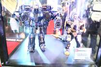 SDCC BA Booth Legacy Black & Gold Zords