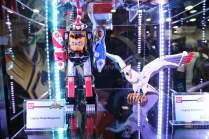 SDCC BA Booth Legacy Ninja & Falcon Megazord