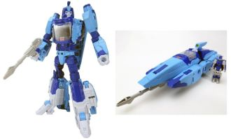 Titans Return Blurr Takara
