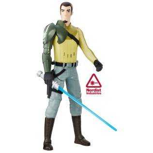 SDCC 2016 Star Wars 12 Inch Electronic Duel Kanan Jarrus Unboxed