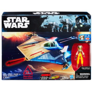 SDCC 2016 Star Wars Hera Syndulla's A-Wing