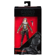 Star Wars 6 Inch Black Series Sergeant Jyn Erso Box
