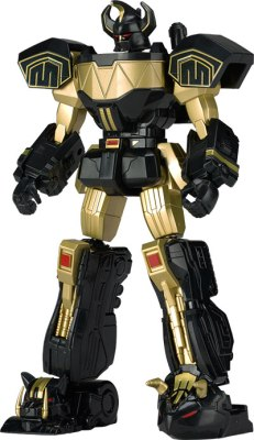 Power Morphicon 2016 Exclusive Black Gold Legacy Megazord 6 Inch Promo