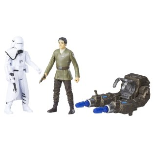 Rogue One Poe Dameron First Order Snowtrooper Officer Contents