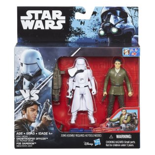 Rogue One Poe Dameron First Order Snowtrooper Officer