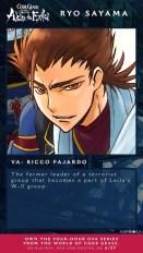 Code Geass Akito the Exiled Ricco Fajardo Ryo Sayama