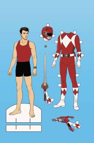 Saban's Go Go Power Rangers Comic 3