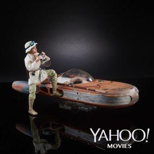 Star Wars Black Series 6 Inch Deluxe Luke Skywalker Landspeeder Set 2